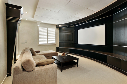 Media Furniture in Theatre Room | SoundWhere